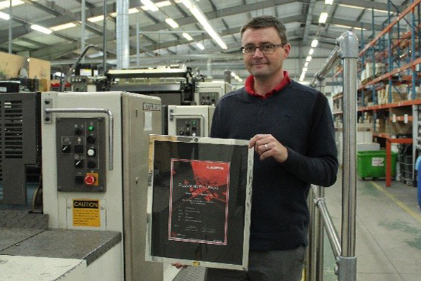 Ormerods, Rochdale, Presented with 2nd Productivity Award