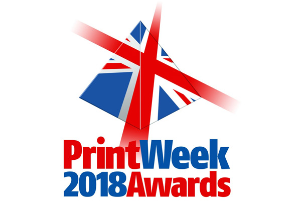 RMGT at the 2018 PrintWeek Awards